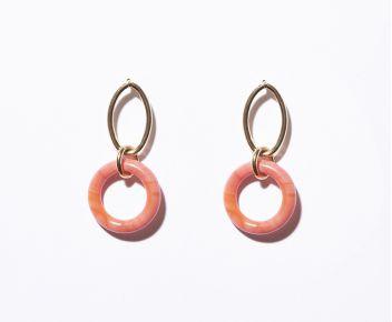 Boucles d'oreilles Bing opaques