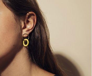 Boucles d'oreilles Pop Opaques