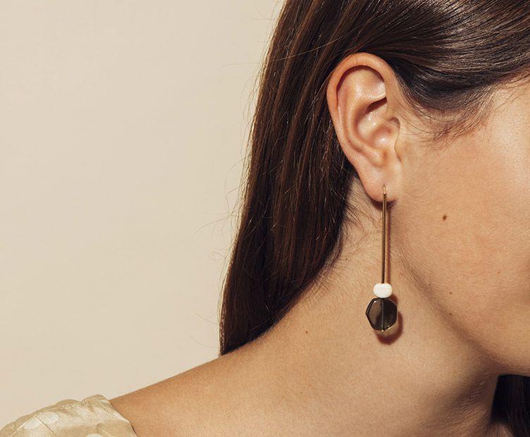 Boucles d'oreilles Clic