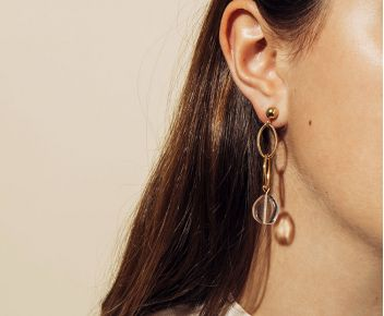 Boucles d'oreilles Flap