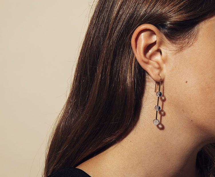 Boucles d'oreilles Wizz