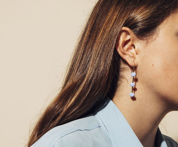 Boucles d'oreilles Wap opaques
