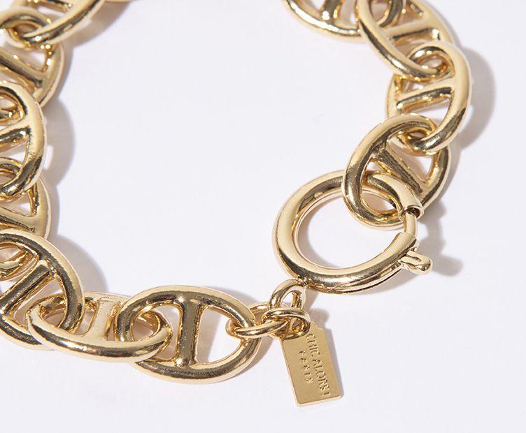 Bracelet doré Marius chaine marine