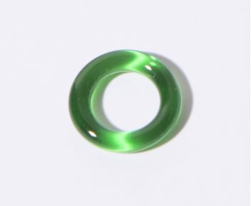17 mm clear glass Ring