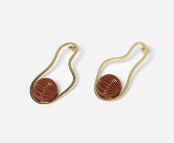 Pool Color Earrings