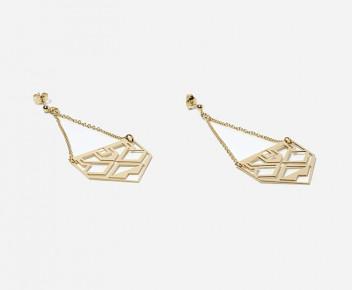 Mini Inca Earrings