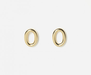 Solo Small Smooth Earrings