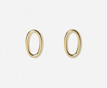 Solo Medium Smooth Earrings