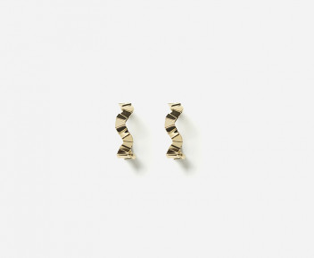 Fluxus Hoop Earrings