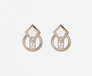 Salvator Glazed Earrings