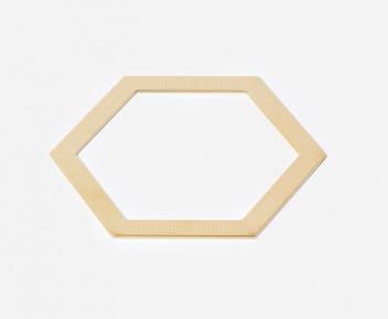 Jonc Hexagone plat 02