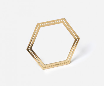 Bangle Hexagone 03