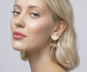 Flore Double Earrings outlet