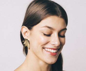 Poo XL Earrings