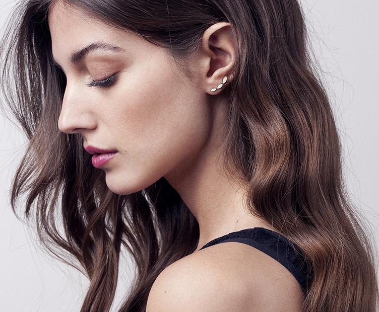 boucles d'oreilles femme brook