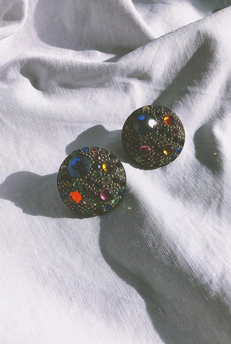 Vintage clip earrings n°03