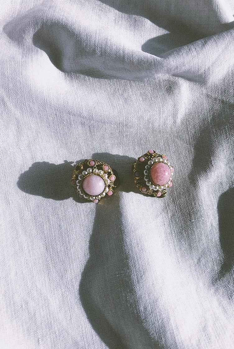 Vintage clip earrings n°02