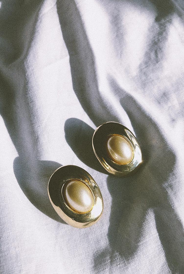Vintage clip earrings n°01