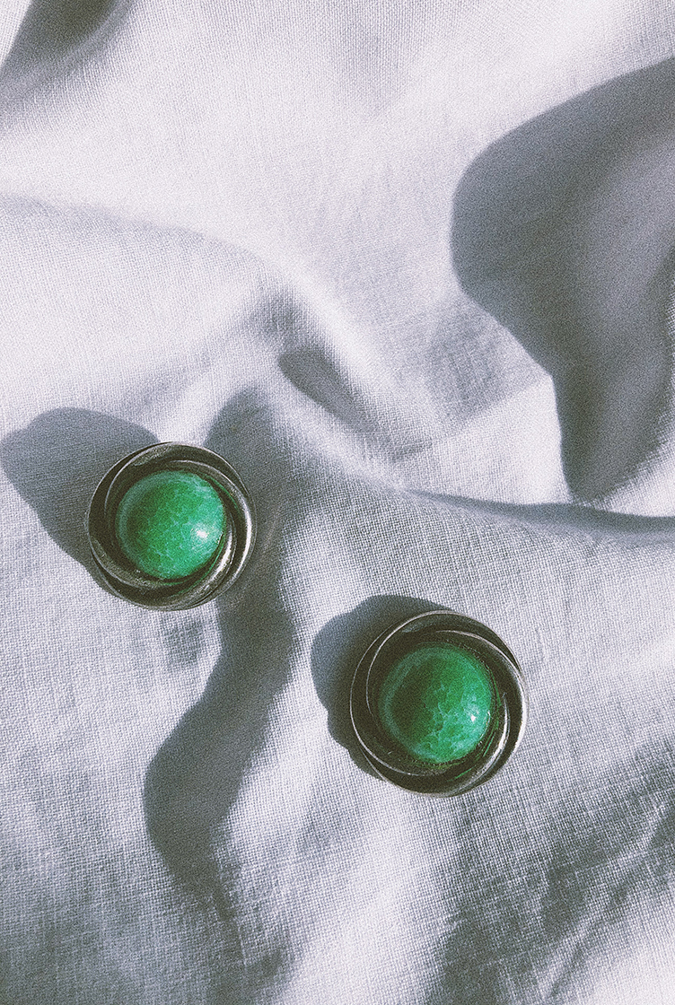 Vintage clip earrings n°06