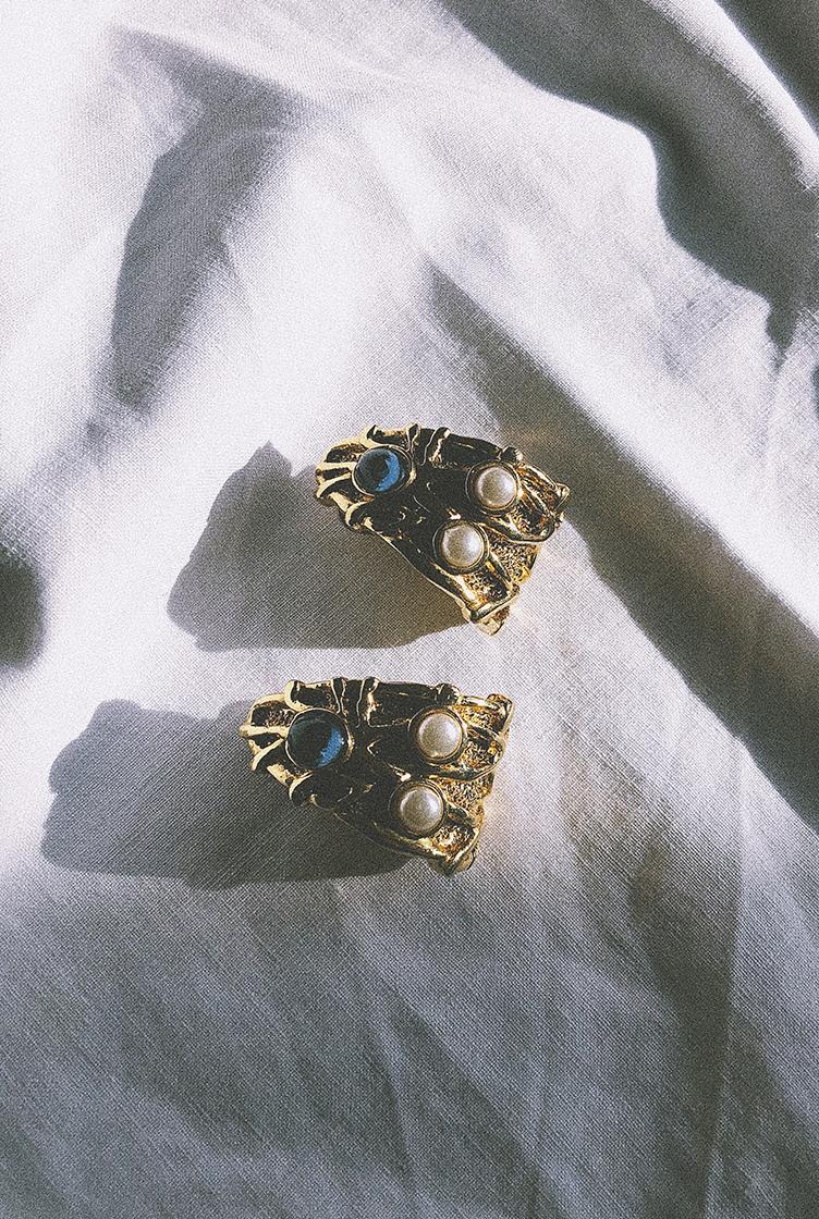 Vintage clip earrings n°5
