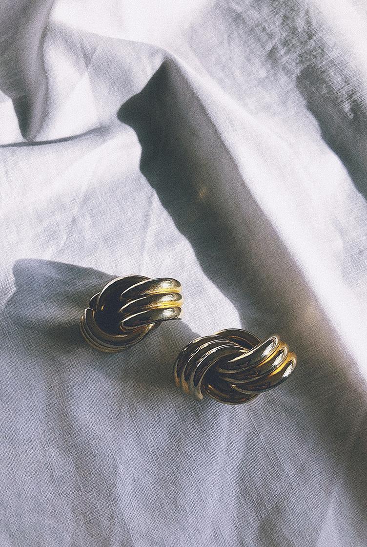 Vintage clip earrings n°04
