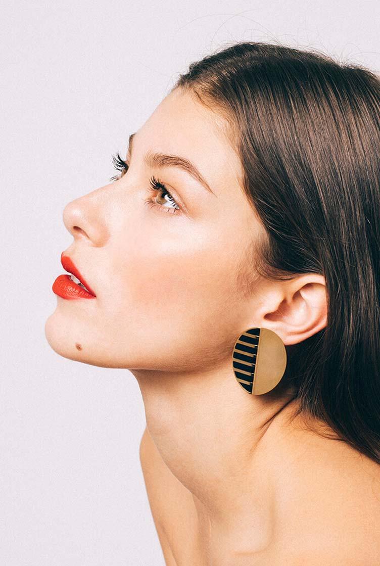 Jackie Glazed Earrings