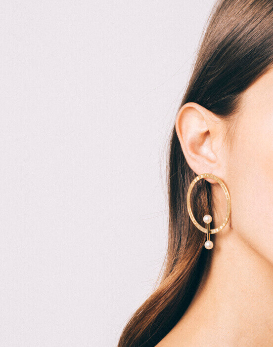 Cosmos Earrings