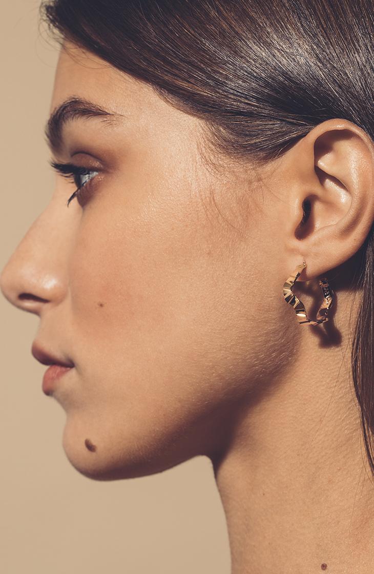 Fluxus Hoop Earrings